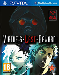 Virtue's Last Reward PS Vita Cover Art