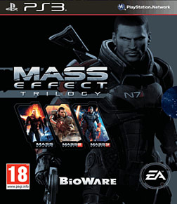 Mass Effect Trilogy PlayStation 3 Cover Art