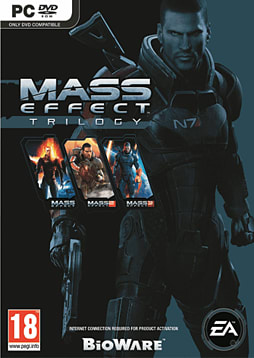 Mass Effect Trilogy PC Games Cover Art