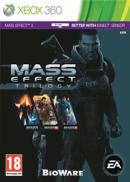 Mass Effect Trilogy Xbox 360 Cover Art