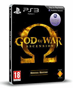 God of War: Ascension GAME Exclusive Special Edition PlayStation-3 Cover Art