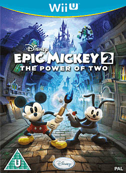 Disney Epic Mickey 2: The Power of Two Wii U Cover Art