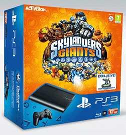PlayStation 3 12GB Slim with Skylanders Giants and Limited Edition Tree Rex PlayStation 3