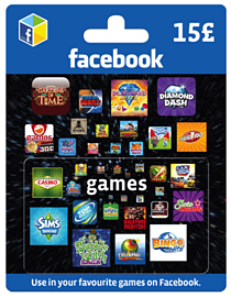 Facebook Game Card - £15 Gifts