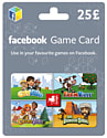 Facebook Game Card £25 Gifts