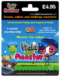 Fight My Monster Gift Card - £4.95 Gifts