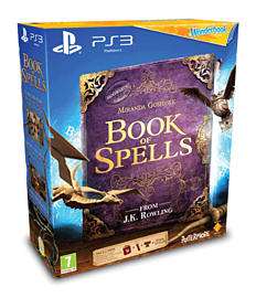 PlayStation Move Starter Pack with Wonderbook: Book of Spells PlayStation-3 Cover Art