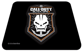 SteelSeries QcK Call of Duty: Black Ops II Gaming Surface - Badge Edition Accessories