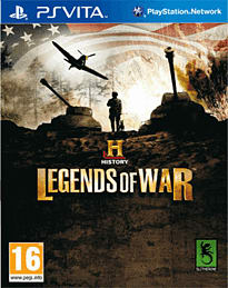 History: Legends of War PS Vita Cover Art