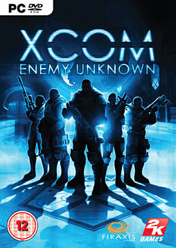 XCOM: Enemy Unknown PC Games Cover Art