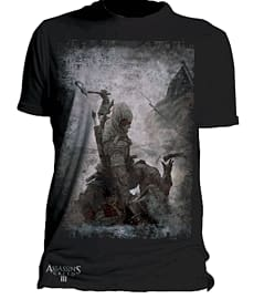Assassin's Creed 3 T-Shirt - Medium Clothing and Merchandise
