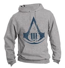Assassin's Creed 3 Logo Hooded Sweatshirt - Medium Clothing and Merchandise