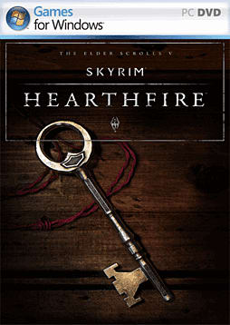 The Elder Scrolls V: Skyrim - Hearthfire PC Games Cover Art
