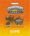 GAME Stores 15 Skylanders Giants Gift Card Gifts