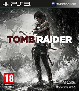 Tomb Raider Survival Edition PlayStation 3 Cover Art