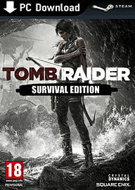 Tomb Raider Survival Edition PC Games Cover Art