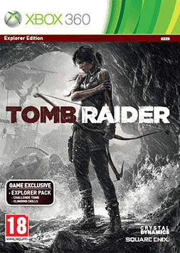 Tomb Raider GAME Exclusive Explorer Edition Xbox 360 Cover Art