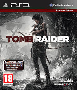 Tomb Raider Explorer Edition PlayStation 3 Cover Art