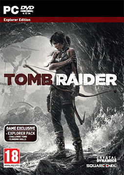 Tomb Raider GAME Exclusive Explorer Edition PC Games Cover Art
