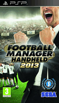 Football Manager 2013 PSP Cover Art