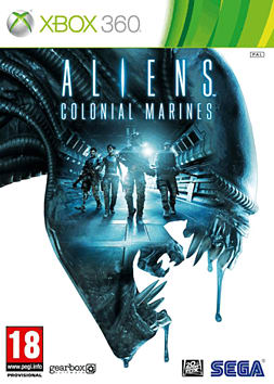 360 ALIENS COL MARINES CE Xbox 360 Cover Art