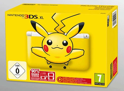 Limited Edition Pikachu Nintendo 3DS XL 3DS