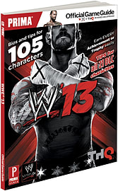 WWE 13 Strategy Guide Strategy Guides and Books