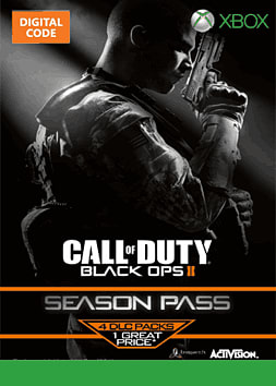 Call of Duty: Black Ops II Season Pass Xbox Live Cover Art