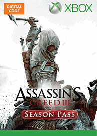 Assassin's Creed III Season Pass Xbox Live Cover Art