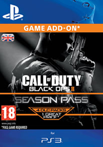 Call of Duty: Black Ops II Season Pass PlayStation Network