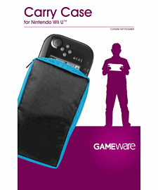 GAMEware Carry Case for Wii U Game Pad Accessories