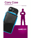 GAMEware Carry Case for Wii U Game Pad
