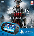 PlayStation Vita (WiFi Version) with Assassin's Creed III: Liberation PS Vita