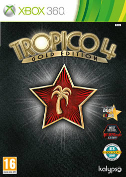 Tropico 4: Gold Edition Xbox 360 Cover Art