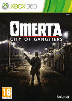 Omerta - City of Gangsters Xbox 360 Cover Art