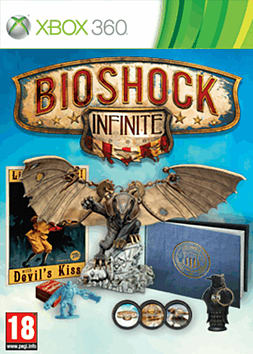 BioShock Infinite GAME Exclusive Songbird Edition Xbox 360 Cover Art