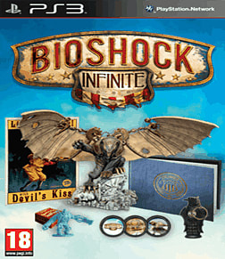 BioShock Infinite GAME Exclusive Songbird Edition PlayStation 3 Cover Art