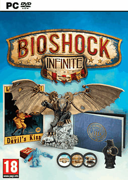 BioShock Infinite GAME Exclusive Songbird Edition PC Games Cover Art