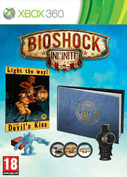BioShock Infinite Premium Edition Xbox 360 Cover Art