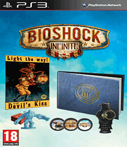 BioShock Infinite Premium Edition PlayStation 3 Cover Art