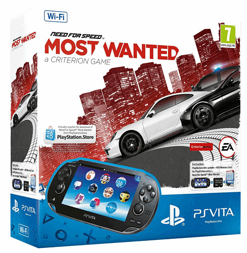 Console Accessories PlayStation Vita (Wifi only) with Need for Speed: Most Wanted