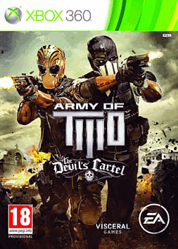 Army of Two: The Devil's Cartel Xbox 360 Cover Art