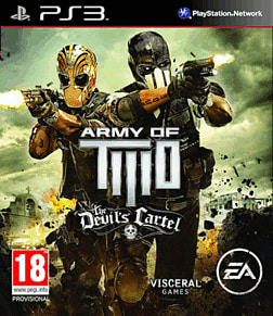 Army of Two: The Devil's Cartel PlayStation 3 Cover Art