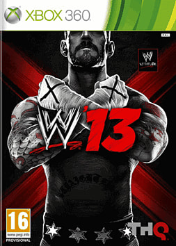 WWE 13 Xbox 360 Cover Art