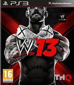 WWE 13 PlayStation 3 Cover Art