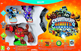 Skylanders Giants Wii U Cover Art