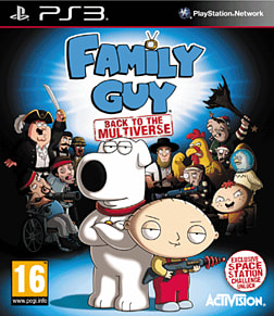 Family Guy: Back to the Multiverse Space Station Edition - Only at GAME PlayStation 3 Cover Art