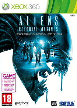 Aliens: Colonial Marines - Extermination Edition - Only at GAME Xbox 360 Cover Art