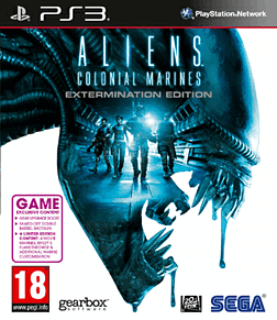 Aliens: Colonial Marines - Extermination Edition PlayStation 3 Cover Art