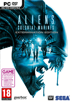 Aliens: Colonial Marines - Extermination Edition - Only at GAME PC Games Cover Art